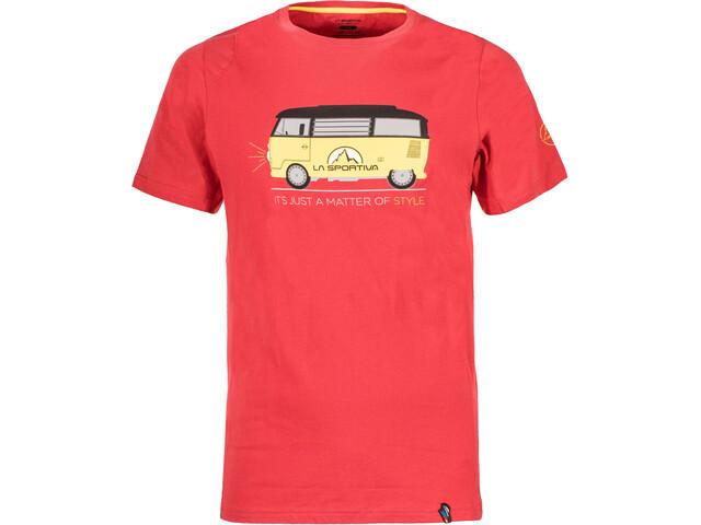 La Sportiva M's Van T-Shirt Cardinal Red
